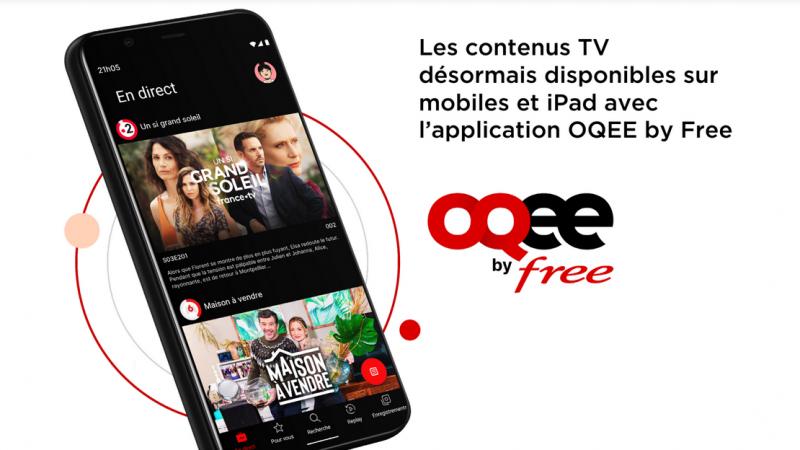 Oqee : MyTF1 débarque enfin sur l'application mobile de Free