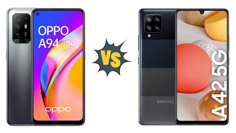 Choc des smartphones chez Free Mobile : Oppo A94 5G ou Samsung Galaxy A42 5G ?