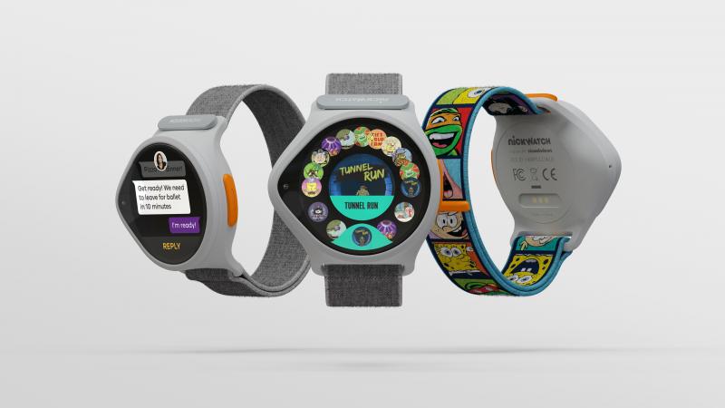 Nickelodeon dévoile une montre connectée à destination des enfants