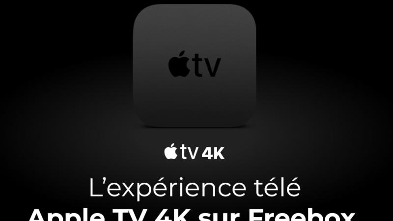 """La télécommande """"Free"""" de l'Apple TV 4K est disponible dans la boutique Freebox"""