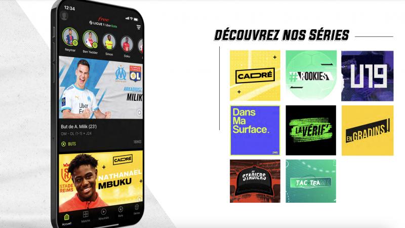 Free Ligue 1 Uber Eats lance sa saison 2 avec de nouveaux formats décalés, découvrez-les