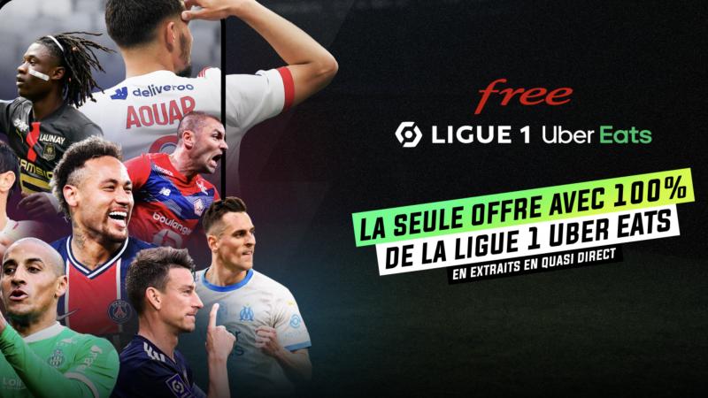 Free Ligue 1, une idylle avec 12 clubs du championnat