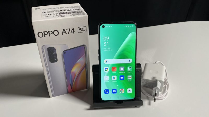 Test du Oppo A74 5G : notre avis sur ce smartphone 5G disponible à moins de 300 euros chez Free Mobile