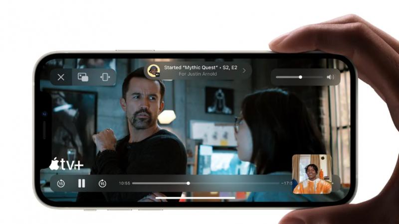 iOS : la nouvelle fonction Shareplay, ce n'est pas pour tout de suite annonce Apple