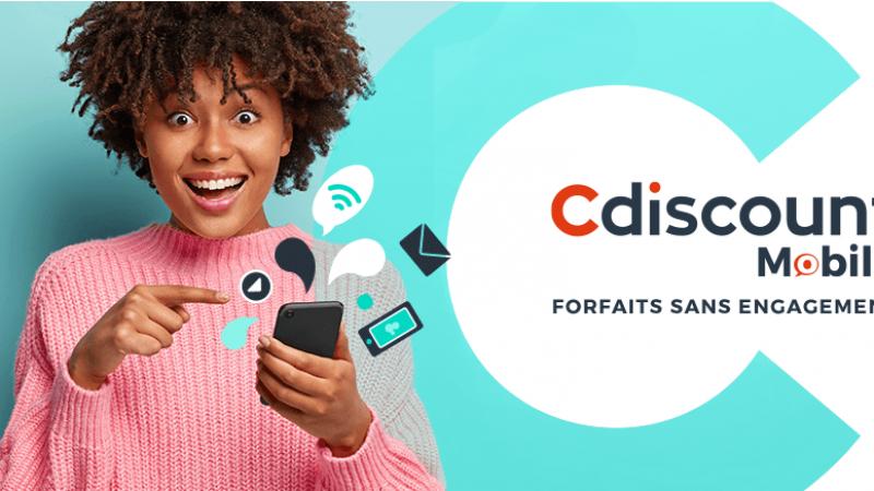 Cdiscount Mobile lance une série limitée 80 Go à moins de 10 euros