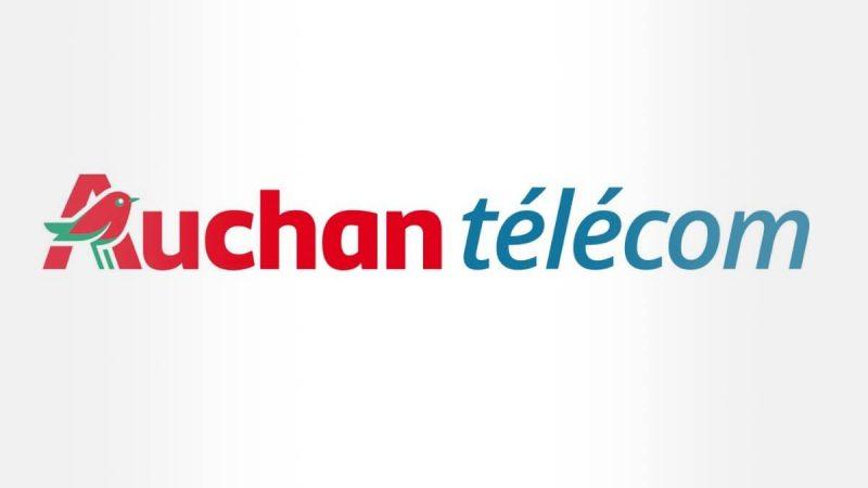 Auchan Telecom : deux forfaits en promotion à moins de 10 euros proposant jusqu'à 100 Go