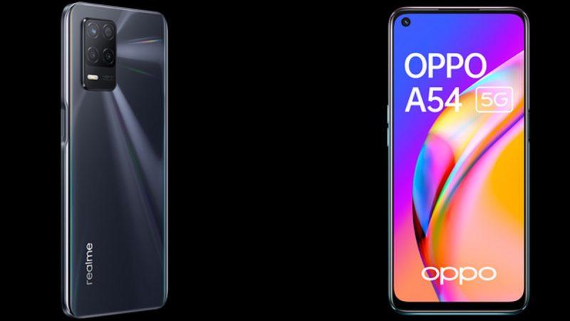 Choc des smartphones disponibles chez Free Mobile : Realme 8 5G ou Oppo A54 5G ?