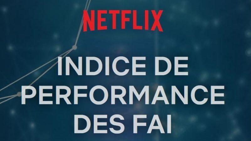 Débits sur Netflix en France : Free deuxième ex aequo