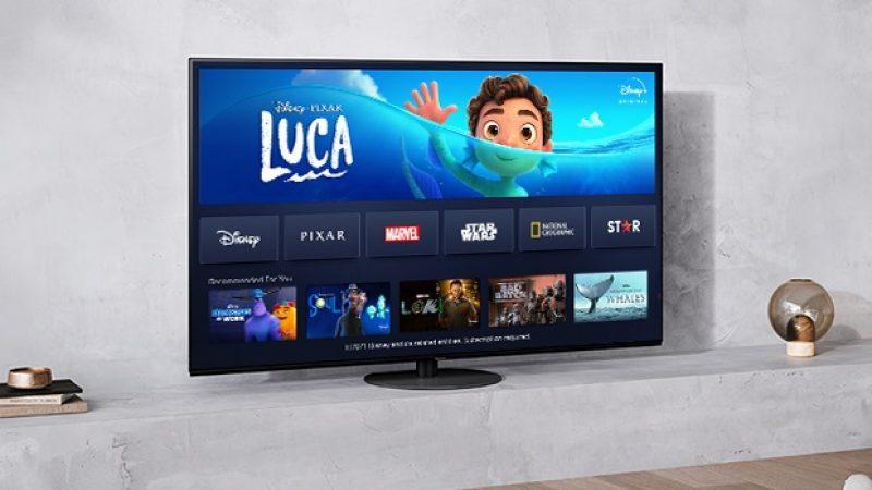Panasonic intègre Disney+ à ses téléviseurs