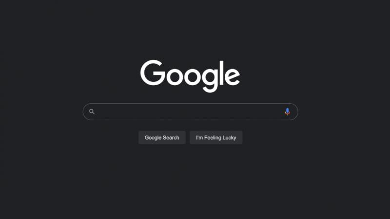 Google déploie enfin le mode sombre sur ordinateur pour son moteur de recherche