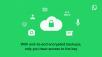 WhatsApp étend le chiffrement de bout en bout aux sauvegardes