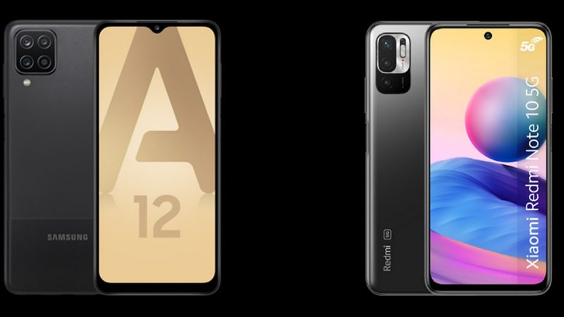 Choc des smartphones à petit prix chez Free Mobile : Samsung Galaxy A12 ou Xiaomi Redmi Note 10 5G ?