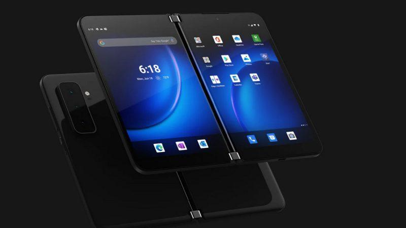Smartphones : Microsoft dévoile son second pliable et Nokia un nouveau 5G abordable