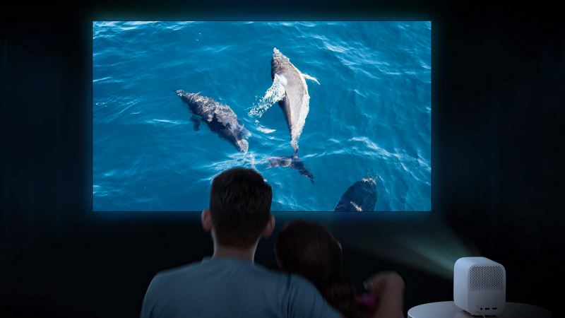 Xiaomi annonce son nouveau Smart Projector 2, compact et portable avec Android TV et Dolby Audio
