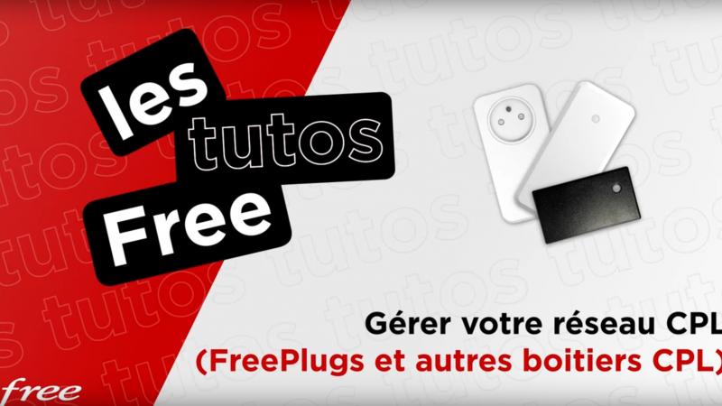 Abonnés Freebox : Free vous explique comment construire et gérer votre réseau CPL