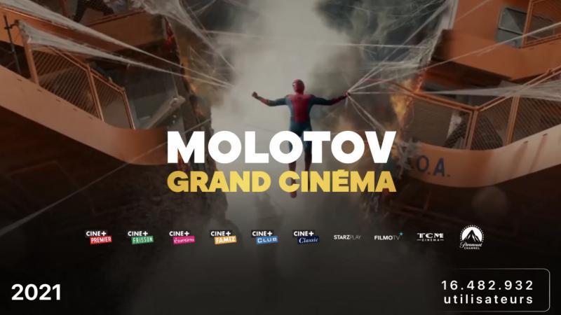 """Molotov lance """"Grand Cinéma"""", une nouvelle offre très complète disponible sur Freebox Pop et mini 4K"""