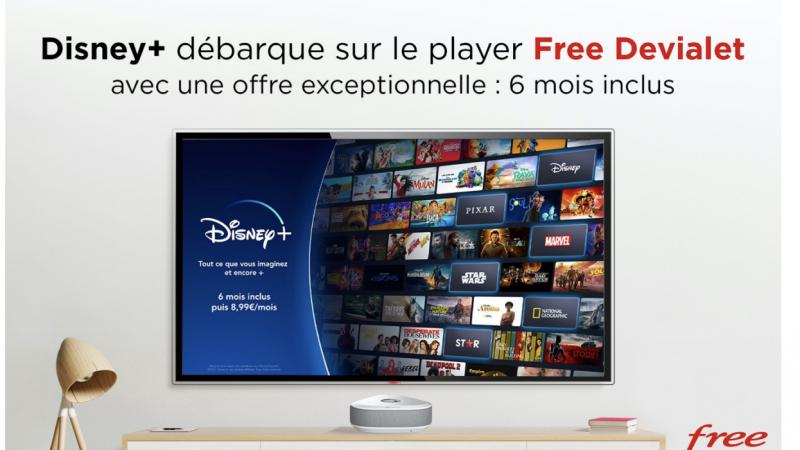 Disney+ wordt gratis gelanceerd op Freebox Delta met Player Devialet, inclusief abonnement van 6 maanden
