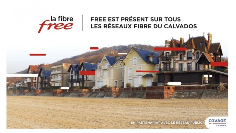 Free annonce le lancement de ses offres fibre sur deux nouveaux réseaux