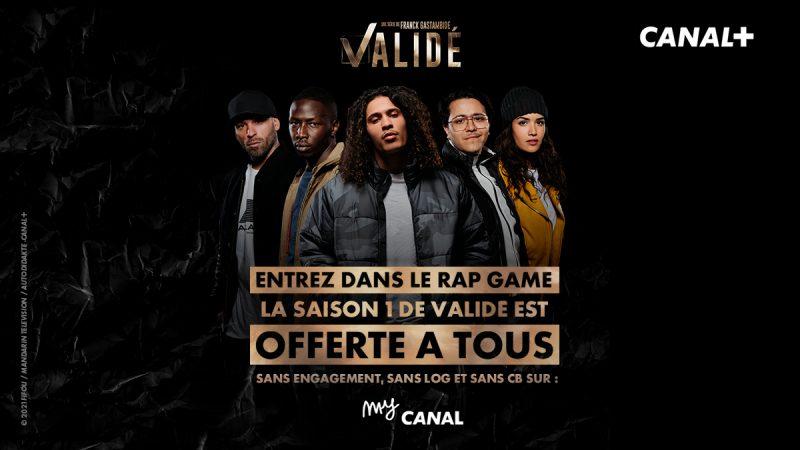 """Canal+ offre la saison 1 de """"Validé"""" gratuitement sur myCanal, pour tous"""
