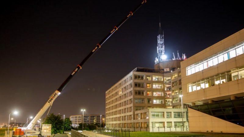 Comment remplacer un pylône à l'aéroport Paris-Charles de Gaulle, malgré les contraintes