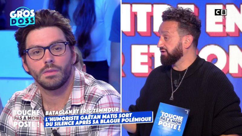 TPMP : Gaëtan Matis menacé de mort après une blague sur Éric Zemmour